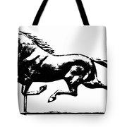 Weathervane, 19th Century Tote Bag