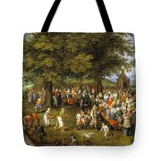 Wedding Banquet Presided Over By The Archduke And Infanta Tote Bag
