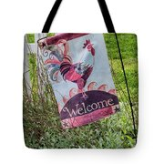 Welcome To My Garden Tote Bag