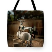 Well Pump Tote Bag