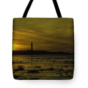 West Beach Sunset Tote Bag