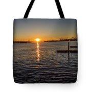 West Seattle Sunrise Tote Bag
