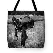 Western Saddle Tote Bag