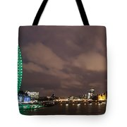 Westminster And The London Eye Tote Bag