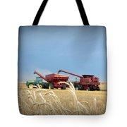 Wheat Harvest 2016 Tote Bag