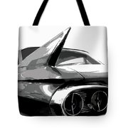 When Fins Were Fashionable Tote Bag