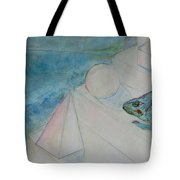 When Time Began Tote Bag