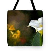 Awakening Flower Tote Bag