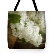 White Lilac Tote Bag