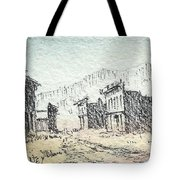 White Oaks Ghost Town New Mexico Tote Bag