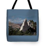 White Rock, Garden Of The Gods Tote Bag