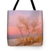 White Sands Sunset 1 Tote Bag