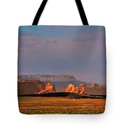 Wide-open Spaces - Page Arizona Tote Bag