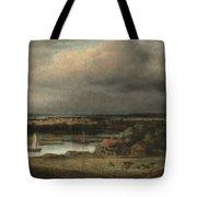 Wide River Landscape Tote Bag
