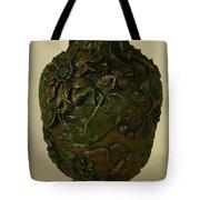 Wildflower Vase Detail Tote Bag
