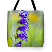 Wildflowers And Pikes Peak In The Pike National Forest Tote Bag