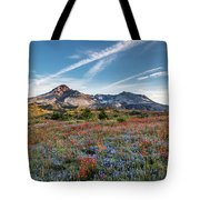 Wildflowers At Mt. St. Helen's Tote Bag