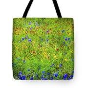 Wildflowers In Bloom Tote Bag