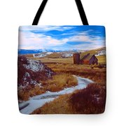 Willow Creek Barn Tote Bag