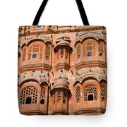 Wind Palace - Jaipur Tote Bag