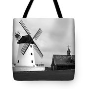 Windmill At Lytham St. Annes - England Tote Bag