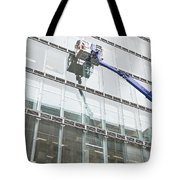 Window Cleaning Tote Bag