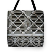 Window Grill In Toulouse Tote Bag