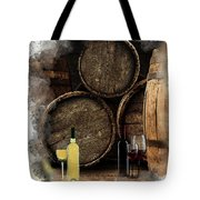 Wine For Life Tote Bag