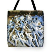 Winter Design Tote Bag