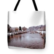 Winter In England  Tote Bag