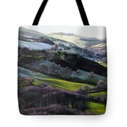 Winter In North Wales Tote Bag