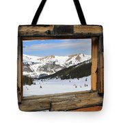 Winter Window Tote Bag