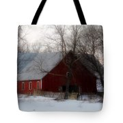 Winter's Blessing Tote Bag