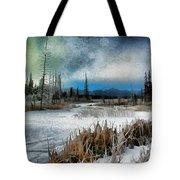 Winters Marsh Tote Bag
