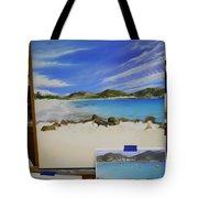 Wip- Orient Beach Tote Bag
