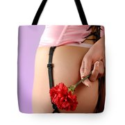 Woman With A Carnation Tote Bag
