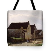 Women Going To The Woods Tote Bag