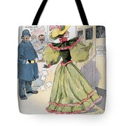 Womens Rights Cartoon Tote Bag