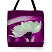 White Chrysanthemum Tote Bag