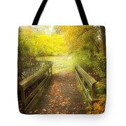 Wooden Bridge Tote Bag