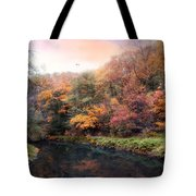 Woodland River Tote Bag
