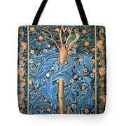 Woodpecker Tapestry Tote Bag