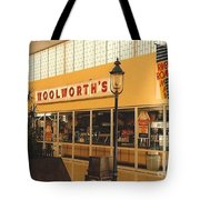 Woolworth's Store At River Roads Mall  Tote Bag