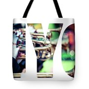 Word Nyc Parade In New York. Tote Bag