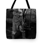 Worker In The Foundry Tote Bag