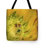 Working Bee Tote Bag by Allen Sheffield