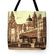 World Famous Three Graces Tote Bag