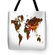World Map 2b Tote Bag