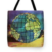 World Displayed Tote Bag