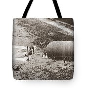World War I: Balloon Tote Bag